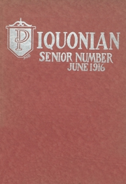 Piqua Central High School - Piquonian Yearbook (Piqua, OH) online yearbook collection, 1916 Edition, Page 1