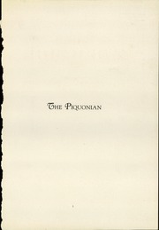 Page 3, 1928 Edition, Piqua Central High School - Piquonian Yearbook (Piqua, OH) online yearbook collection