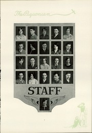 Page 9, 1928 Edition, Piqua Central High School - Piquonian Yearbook (Piqua, OH) online yearbook collection