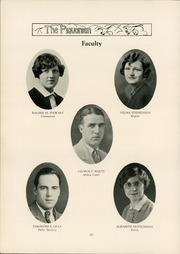 Page 16, 1929 Edition, Piqua Central High School - Piquonian Yearbook (Piqua, OH) online yearbook collection