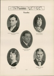 Page 17, 1929 Edition, Piqua Central High School - Piquonian Yearbook (Piqua, OH) online yearbook collection