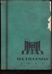 Page 1, 1933 Edition, Piqua Central High School - Piquonian Yearbook (Piqua, OH) online yearbook collection
