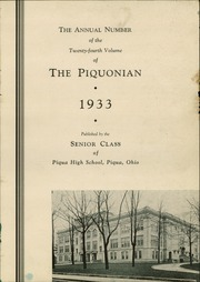 Page 3, 1933 Edition, Piqua Central High School - Piquonian Yearbook (Piqua, OH) online yearbook collection
