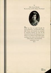 Page 5, 1933 Edition, Piqua Central High School - Piquonian Yearbook (Piqua, OH) online yearbook collection
