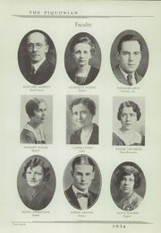 Page 11, 1934 Edition, Piqua Central High School - Piquonian Yearbook (Piqua, OH) online yearbook collection