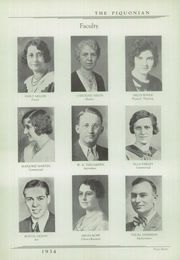Page 12, 1934 Edition, Piqua Central High School - Piquonian Yearbook (Piqua, OH) online yearbook collection
