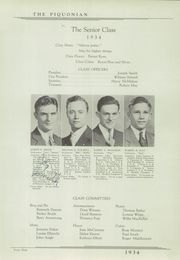Page 15, 1934 Edition, Piqua Central High School - Piquonian Yearbook (Piqua, OH) online yearbook collection