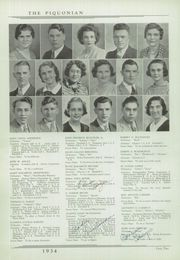 Page 16, 1934 Edition, Piqua Central High School - Piquonian Yearbook (Piqua, OH) online yearbook collection