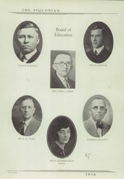 Page 9, 1934 Edition, Piqua Central High School - Piquonian Yearbook (Piqua, OH) online yearbook collection