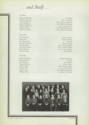 Page 12, 1939 Edition, Piqua Central High School - Piquonian Yearbook (Piqua, OH) online yearbook collection