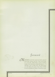 Page 7, 1939 Edition, Piqua Central High School - Piquonian Yearbook (Piqua, OH) online yearbook collection