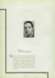 Page 8, 1939 Edition, Piqua Central High School - Piquonian Yearbook (Piqua, OH) online yearbook collection