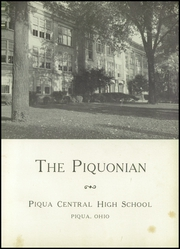 Page 5, 1951 Edition, Piqua Central High School - Piquonian Yearbook (Piqua, OH) online yearbook collection