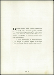 Page 6, 1951 Edition, Piqua Central High School - Piquonian Yearbook (Piqua, OH) online yearbook collection
