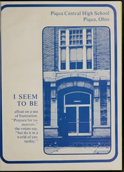 Page 5, 1974 Edition, Piqua Central High School - Piquonian Yearbook (Piqua, OH) online yearbook collection