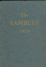 1924 Edition, Arlington High School - Rambler Yearbook (Arlington, IN)