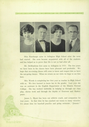 Page 16, 1926 Edition, Arlington High School - Rambler Yearbook (Arlington, IN) online yearbook collection