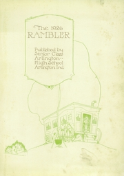 Page 7, 1926 Edition, Arlington High School - Rambler Yearbook (Arlington, IN) online yearbook collection