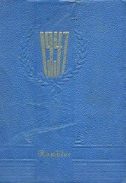1947 Edition, Arlington High School - Rambler Yearbook (Arlington, IN)