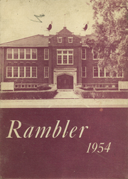 1954 Edition, Arlington High School - Rambler Yearbook (Arlington, IN)