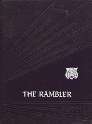 1959 Edition, Arlington High School - Rambler Yearbook (Arlington, IN)