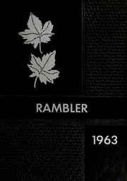 1963 Edition, Arlington High School - Rambler Yearbook (Arlington, IN)