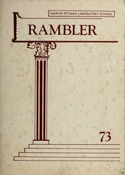1973 Edition, Marvin Pittman School - Rambler Yearbook (Statesboro, GA)