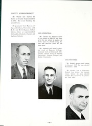 Page 12, 1949 Edition, Lancaster Central High School - Reflector Yearbook (Bluffton, IN) online yearbook collection