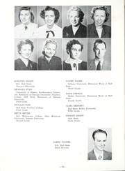 Page 14, 1949 Edition, Lancaster Central High School - Reflector Yearbook (Bluffton, IN) online yearbook collection