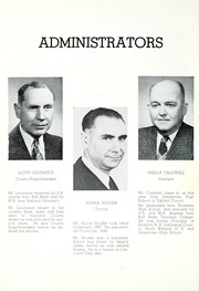 Page 12, 1950 Edition, Lancaster Central High School - Reflector Yearbook (Bluffton, IN) online yearbook collection