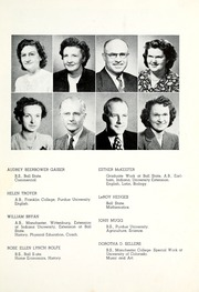 Page 13, 1950 Edition, Lancaster Central High School - Reflector Yearbook (Bluffton, IN) online yearbook collection