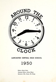Page 7, 1950 Edition, Lancaster Central High School - Reflector Yearbook (Bluffton, IN) online yearbook collection
