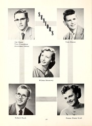 Page 14, 1955 Edition, Lancaster Central High School - Reflector Yearbook (Bluffton, IN) online yearbook collection