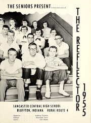 Page 5, 1955 Edition, Lancaster Central High School - Reflector Yearbook (Bluffton, IN) online yearbook collection