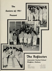 Page 5, 1961 Edition, Lancaster Central High School - Reflector Yearbook (Bluffton, IN) online yearbook collection