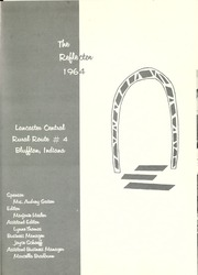 Page 5, 1964 Edition, Lancaster Central High School - Reflector Yearbook (Bluffton, IN) online yearbook collection