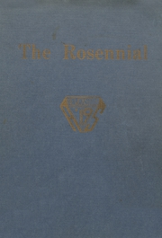 Page 1, 1919 Edition, New Castle Chrysler High School - Rosennial Yearbook (New Castle, IN) online yearbook collection