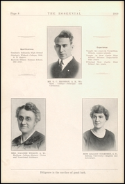 Page 12, 1919 Edition, New Castle Chrysler High School - Rosennial Yearbook (New Castle, IN) online yearbook collection