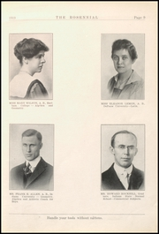 Page 13, 1919 Edition, New Castle Chrysler High School - Rosennial Yearbook (New Castle, IN) online yearbook collection