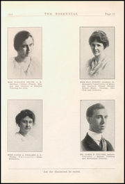 Page 15, 1919 Edition, New Castle Chrysler High School - Rosennial Yearbook (New Castle, IN) online yearbook collection