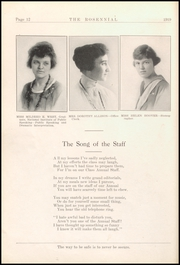 Page 16, 1919 Edition, New Castle Chrysler High School - Rosennial Yearbook (New Castle, IN) online yearbook collection