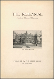 Page 5, 1919 Edition, New Castle Chrysler High School - Rosennial Yearbook (New Castle, IN) online yearbook collection