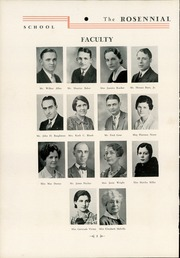 Page 12, 1935 Edition, New Castle Chrysler High School - Rosennial Yearbook (New Castle, IN) online yearbook collection