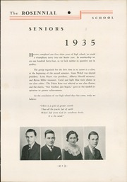 Page 13, 1935 Edition, New Castle Chrysler High School - Rosennial Yearbook (New Castle, IN) online yearbook collection