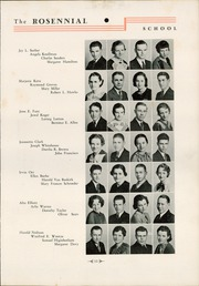 Page 15, 1935 Edition, New Castle Chrysler High School - Rosennial Yearbook (New Castle, IN) online yearbook collection