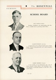 Page 8, 1935 Edition, New Castle Chrysler High School - Rosennial Yearbook (New Castle, IN) online yearbook collection
