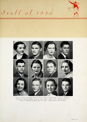 Page 11, 1936 Edition, New Castle Chrysler High School - Rosennial Yearbook (New Castle, IN) online yearbook collection