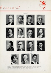 Page 17, 1936 Edition, New Castle Chrysler High School - Rosennial Yearbook (New Castle, IN) online yearbook collection