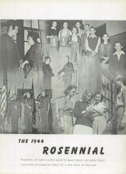 Page 7, 1944 Edition, New Castle Chrysler High School - Rosennial Yearbook (New Castle, IN) online yearbook collection