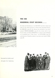 Page 9, 1950 Edition, New Castle Chrysler High School - Rosennial Yearbook (New Castle, IN) online yearbook collection
